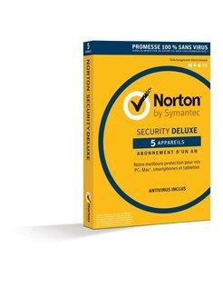 Norton Security Deluxe 3.0 Base license 5gebruiker(s) 1jaar Frans