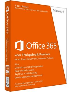 Office 365 Home 1 jaar Nederlands
