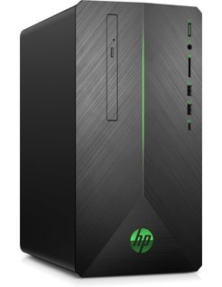 HP Pav. 690 Desk i5-8400 / 16GB / 128GB+1TB / GTX1060 / W10