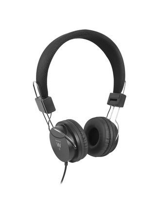 Ewent Headphones Professional Black