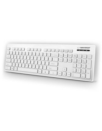 Esperanza White Keyboard