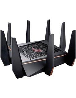 ASUS ROG Rapture GT-AC5300 draadloze router Tri-band (2.4 GHz / 5 GHz / 5 GHz) Gigabit Ethernet Zwart