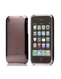 Cygnett Mercury Mirrored Slim Case Gunmetal Grijs voor iPhone 3G/3GS incl. Displayfolie