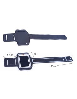 Armband Arm Strap Cover Holder voor Apple iPhone 4 4S -Black [SLV-AIP-4ARM-BK]