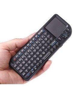 Ultra mini Draadloos 2.4Ghz Toetsenbord met Touchpad [TRT-MWK01]