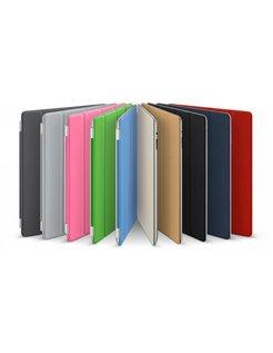 9.7 inch Kunstlederen Sleeve Smart Cover  voor iPad 2, iPad 3,iPad 4-White [SLV-AIPAD23FW]