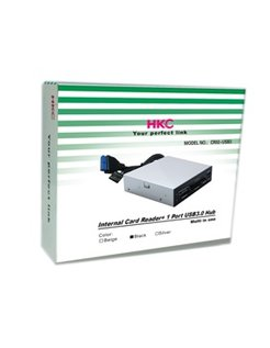 HKC Interne All-in-One SDHC Kaartlezer, USB 3.0 CR02-USB3