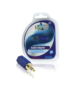 HQ AUDIO-ADAPTER 2.5mm FEMALE - 3.5mm MALE STEREO HQSP-002