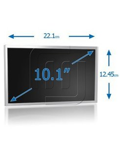 OEM Laptop LCD Scherm 10,1 inch 1024x600 WSXGA Matte W HSD101PFW2 P0030887