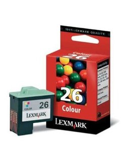 LEX1026 Ink Lexmark No. 26 Color 10N0026