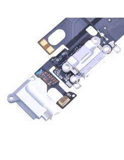 iPhone 6 Charging Port Flex Cable - White voor Apple iPhone 6  [AIP-6-FDC-02OR] P0172183