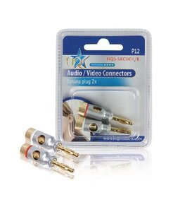 HQ HIGH END BANANA PLUGS HQS-SBC001