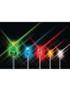 KINGBRIGHT 5MM SUPER BRIGHT LED - RED L-7113SEC-H