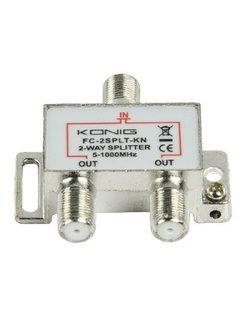 Konig CATV F-splitter FC-2SPLT-KN