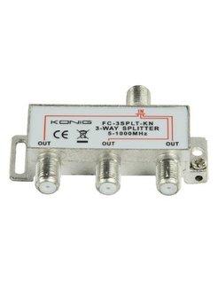 Konig CATV F-splitter FC-3SPLT-KN