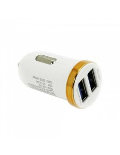 Durata Mini Dubbel USB car charger 5V 2.1A