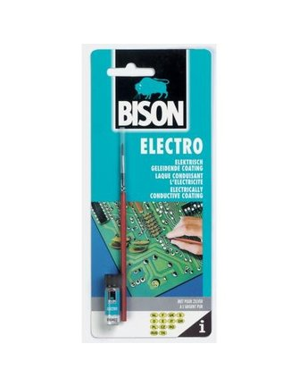 Bison BISON CONDUCTIVE GLUE SILVERGLUE