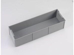 Rako-inzetbak 1/2 van 600x400 mm, grijs