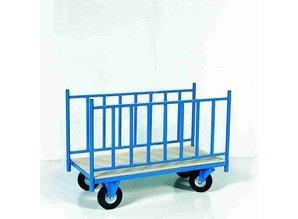 Trolley met 2 zijkanten