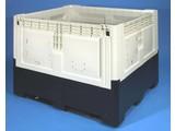 Smartbox 839 liter op 3 sleden, ivoor