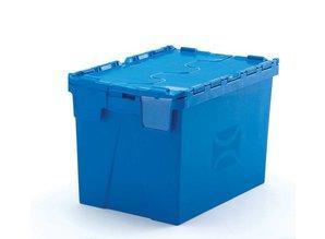Distributiebak 75 liter, blauw