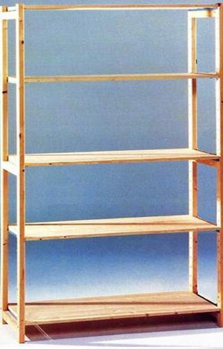 Stelling 60 Cm Diep.Houten Stelling 100cm Breed 210cm Hoog 60cm Diep Logisticshop
