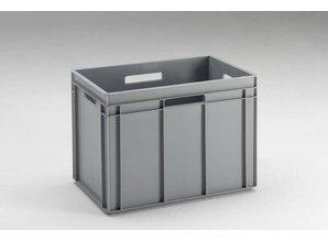 Rako-bak 90 liter met open grepen, grijs