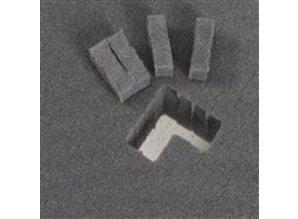 Blokschuim 50 mm, gestanst 357x257
