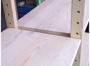 Extra legborden t.b.v houten stelling