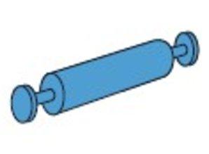 Vervolgpen voor houten stelling