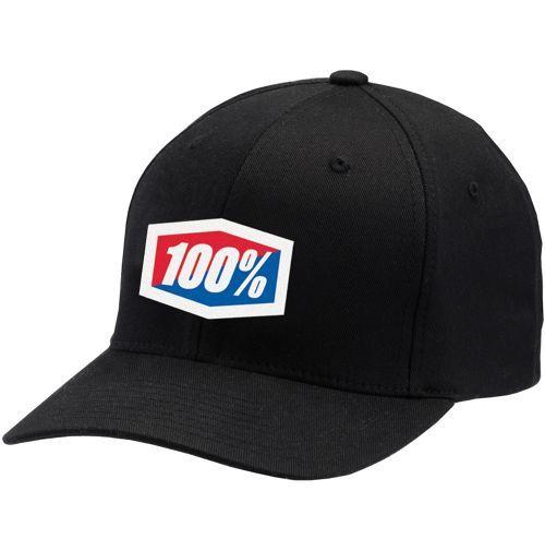 100% Essential Cap  -schwarz-