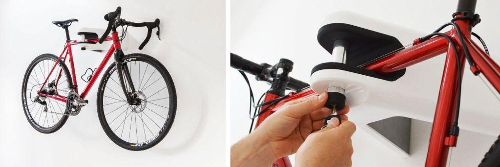 Hiplok Airlok Abschließbare Fahrradhalterung