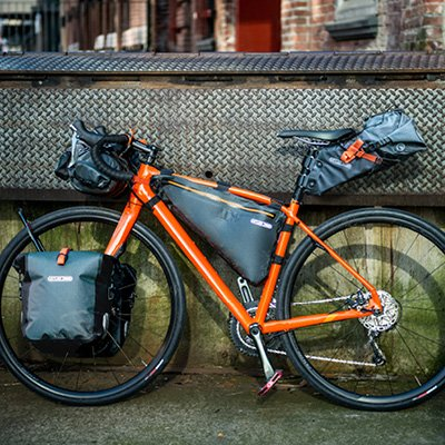 Ortlieb Frame-Pack Bikepacking