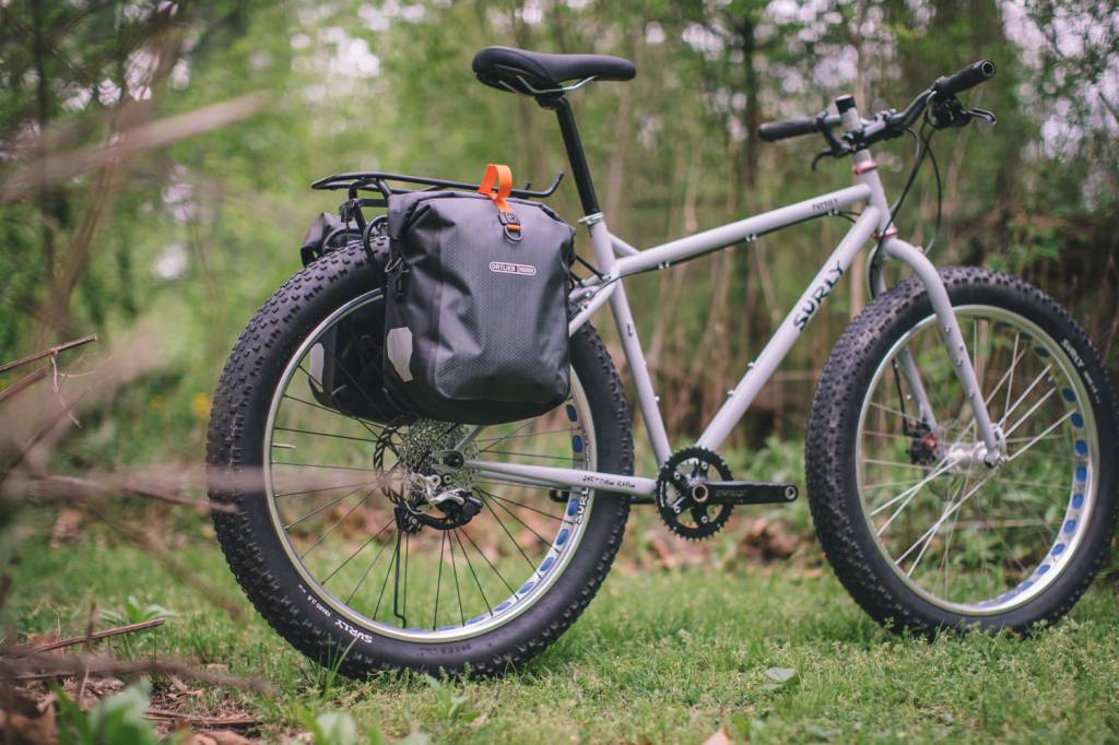 Ortlieb Gravel-Pack Bikepacking