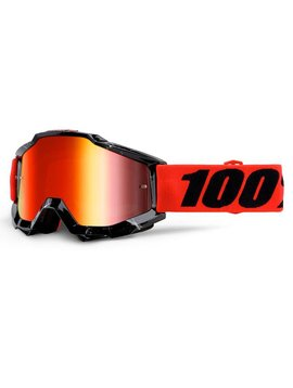 100% Accuri Goggle mirror lens -inferno-