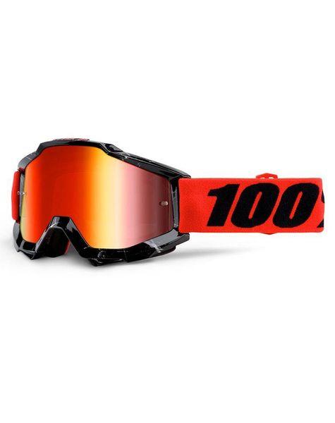 100% Accuri Goggle mirror lens -inferno-