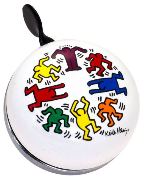Liix Ding Dong Klingel Keith Haring Circle of People