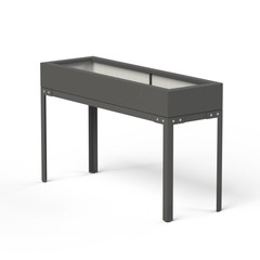 Moestuintafel Polyester 150x50x91cm. op=op