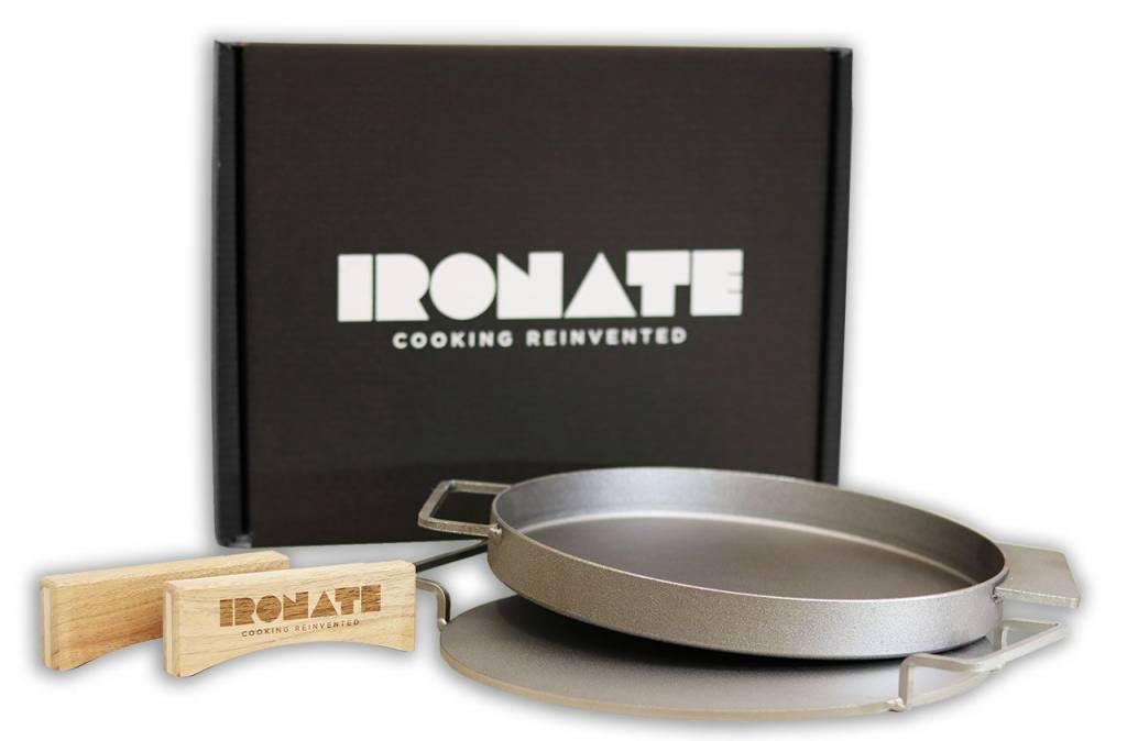 Nieuw nu in Nederland verkrijgbaar, de Ironate pizza pan!