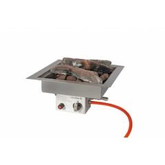 Easy Fires inbouwbrander vierkant 40x40cm.