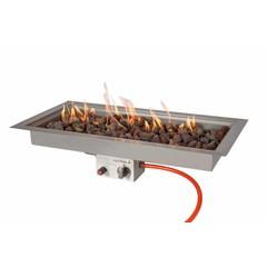 EasyFires  Easy Fires inbouwbrander rechthoek 78x38cm.