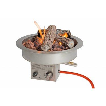 EasyFires  Easy Fires inbouwbrander rond 40x16,5cm.
