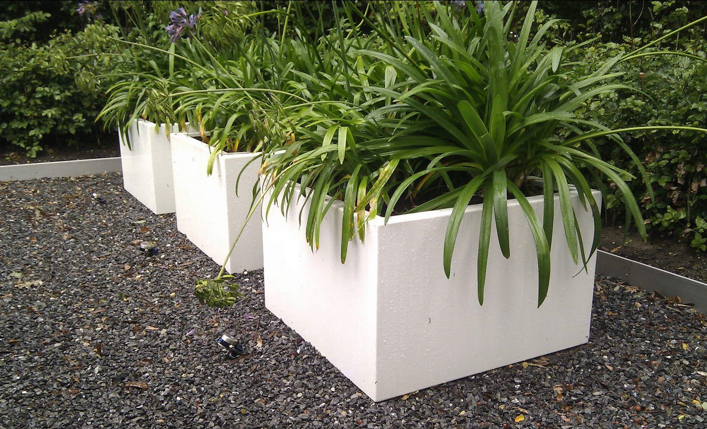 Maatwerk aluminium plantenbakken