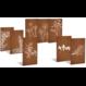 Sfeerpaneel cortenstaal NATURE seven