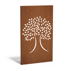 Sfeerpaneel cortenstaal ABSTRACT eight