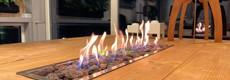 Inbouwbranders voor vuurtafels