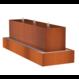 Waterblok cortenstaal rechthoek