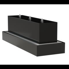 Waterblok aluminium rechthoek