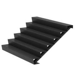 Aluminium trap 200cm.