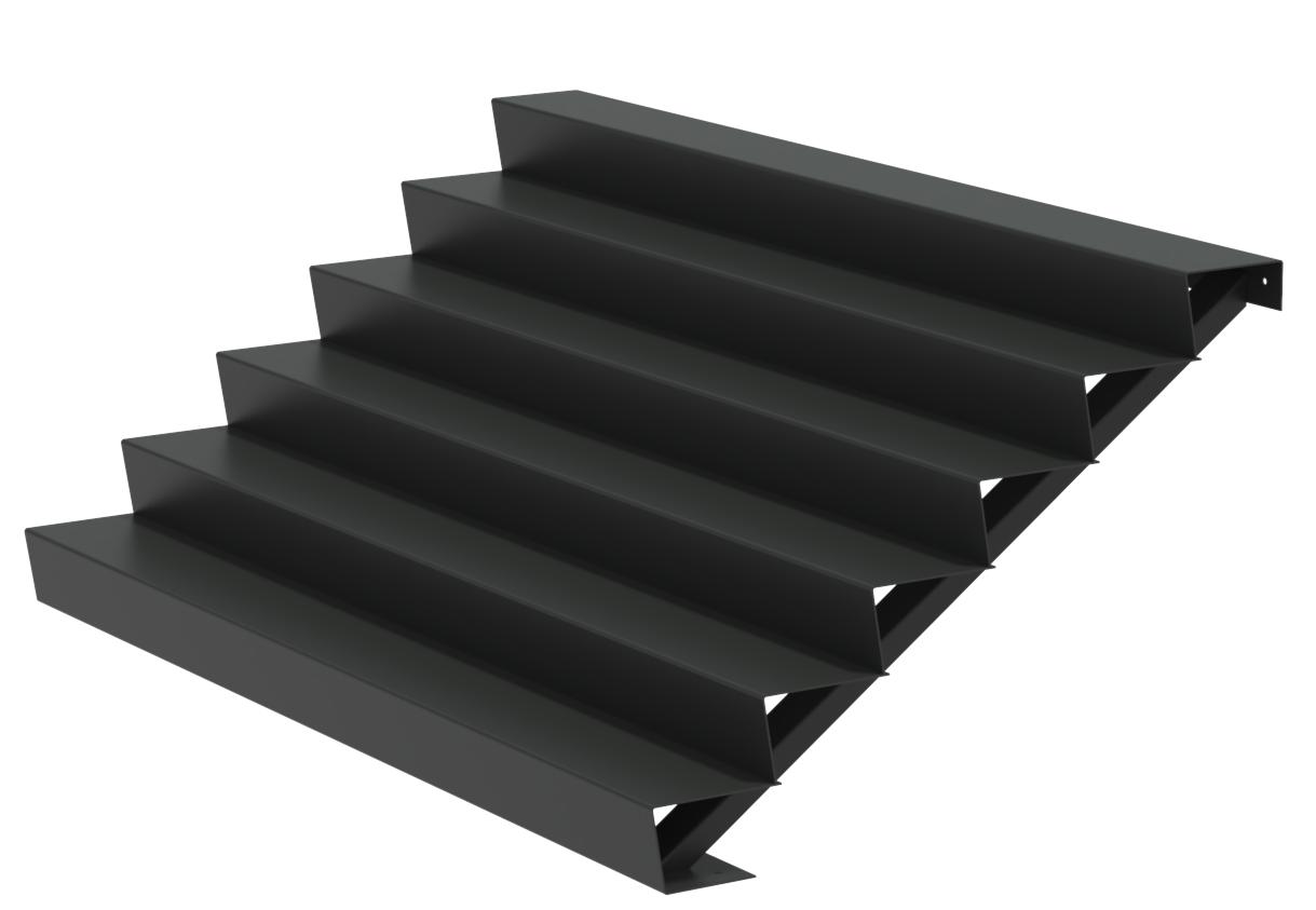 Aluminium trap 250cm. breed